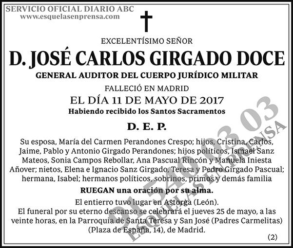 José Carlos Girgado Doce